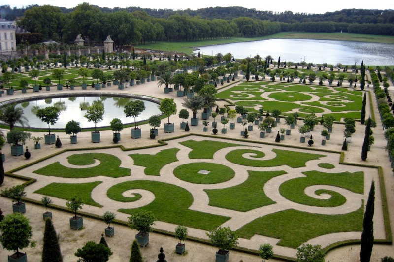 South Parterre, Orangery and Swiss Pond