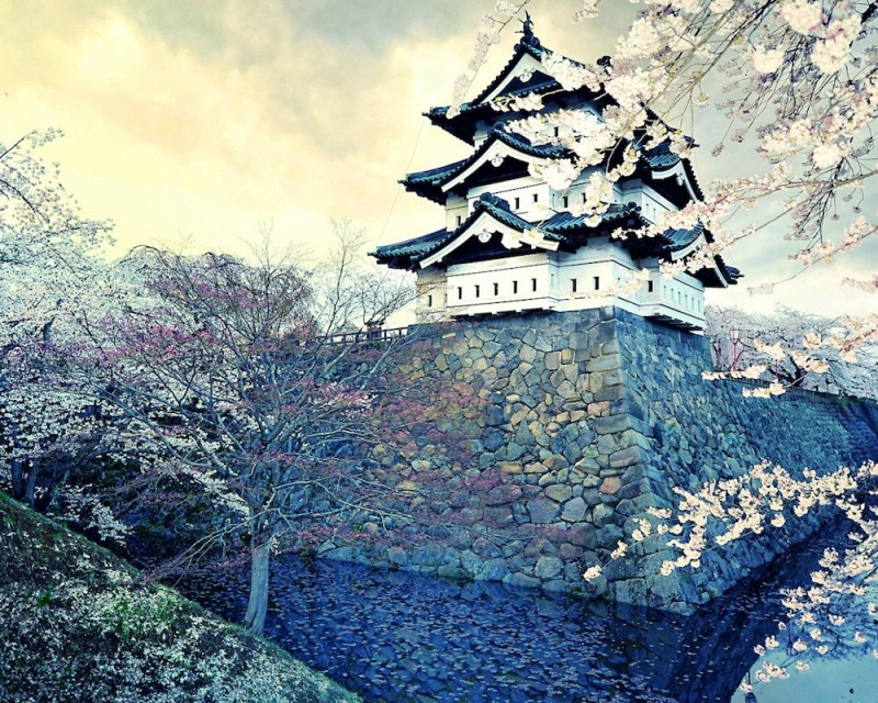 hirosaki castle 1